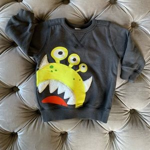 Carter's Fuzzy Monster Sweatshirt (6-9 months)